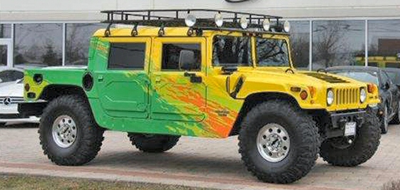 1998 AM General Hummer Custom SUV