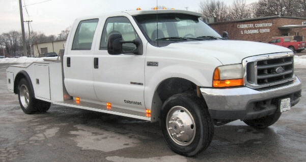 2000 Ford F-450 XLT Cabriolet Crew Cab Western Hauler Dually Pickup