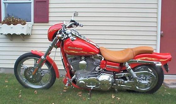2001 Harley Davidson Fxdwg2 Motor Cycle