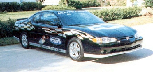 2001 Chevy Monte Carlo Pace Car