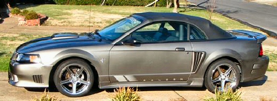 2001 ford mustang saleen convertible. Black Bedroom Furniture Sets. Home Design Ideas