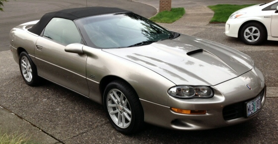 Photo of 2002 35th Anniversary Z28 SS Camaro Convertible
