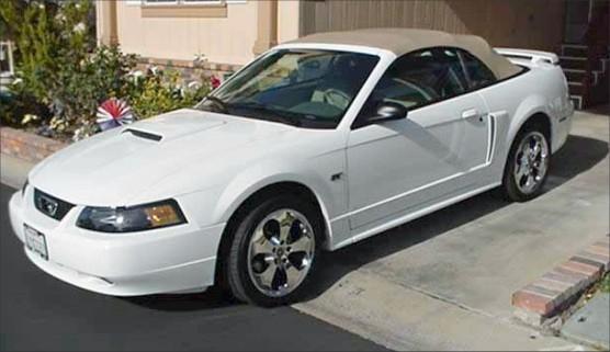 2002 Ford Mustang GT Convertible - 3864 original miles.
