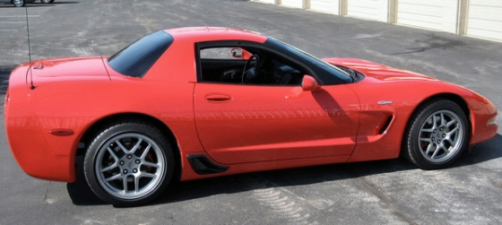 Photo of 2003 Corvette Z06 with only 41,000 miles