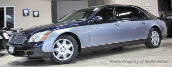 Photo of 2004 Maybach 62 Sedan