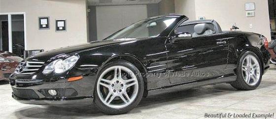 2006 mercedes benz sl class sl500 convertible. Black Bedroom Furniture Sets. Home Design Ideas