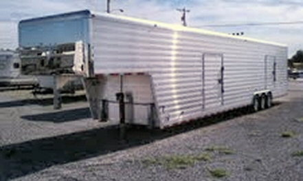 Photo of 2006 Sprint 42' Enclosed Aluminum car trailer