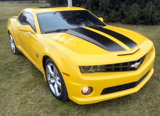 Photo of 2010  Camaro 2 SS Transformers Edition With  24,944 Miles