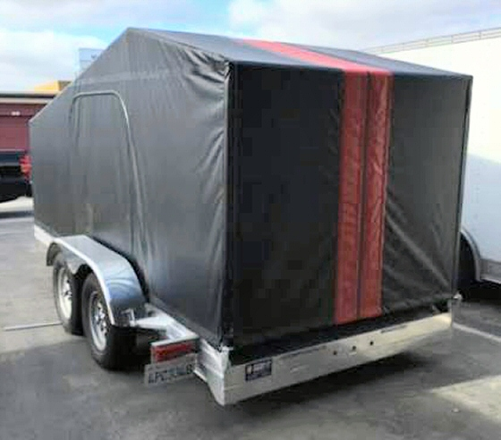 Photo of 2015 Featherlite Tandem Trailer 14 X 8 FT  With Brakes