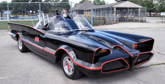 Photo of 1966 TV  Batmobile(TM) Replica Freshly Completed
