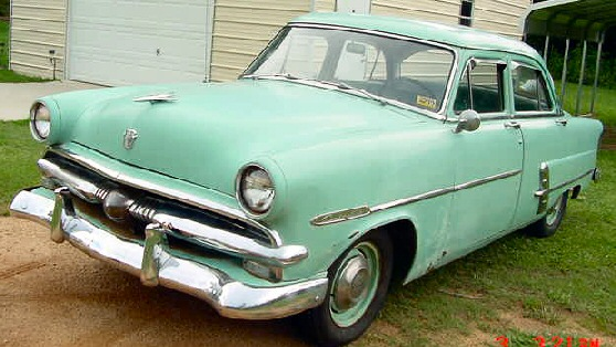 1953 ford customline 4 door sedan for 1953 ford 4 door sedan