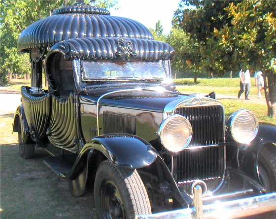 1929 Cadillac Funeral Chariot